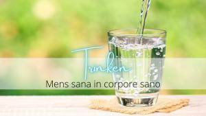 Gesunder Lebensstil – Trinken